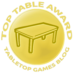 Top Table Award by Tabletop Games Blog