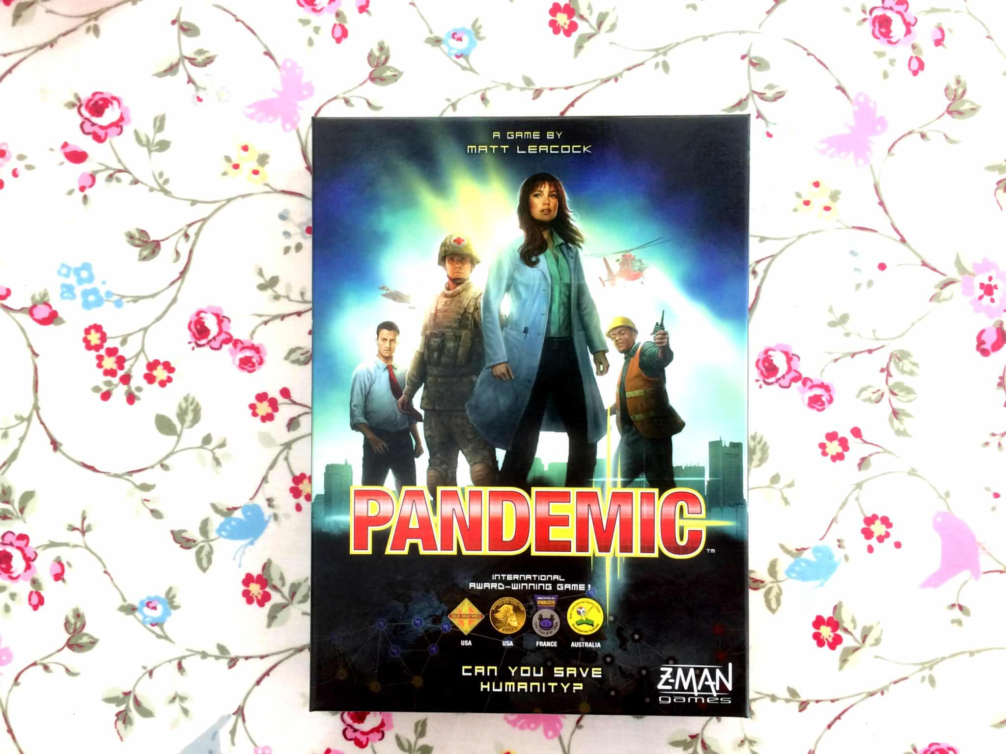 Pandemic unboxing cover
